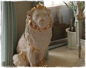 AHURAのライオンを納品しました!